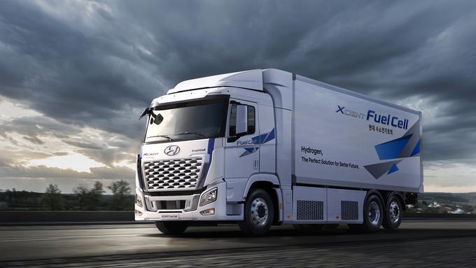 현대자동차, 21년형 엑시언트 수소전기트럭 출시