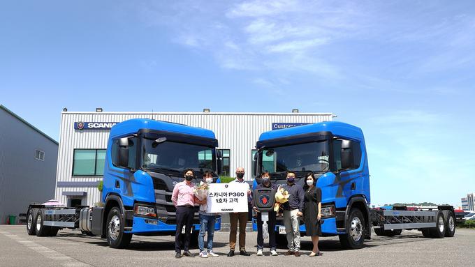 스카니아코리아, P360 출시로 준대형 트럭 시장 진출