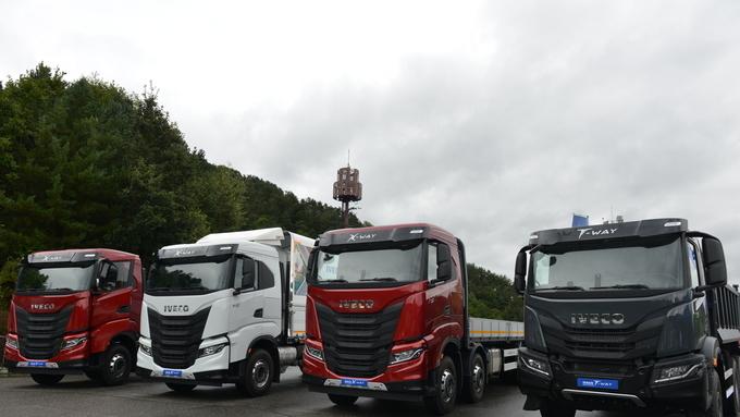 이베코코리아, 대형카고 X-WAY와 덤프트럭 T-WAY 출시로 대형 상용차 라인업 완성
